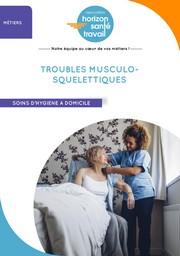 Troubles Musculo-Squelettiques, soin d'hygiène à domicile