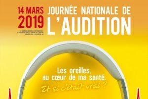 PARTICIPEZ À LA JOURNÉE NATIONALE DE L'AUDITION LE 14 MARS